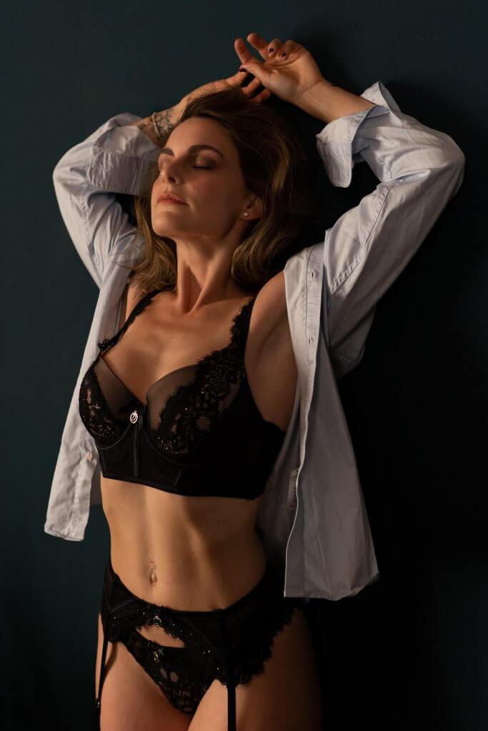 Vrouw Valentijn fotoshoot
