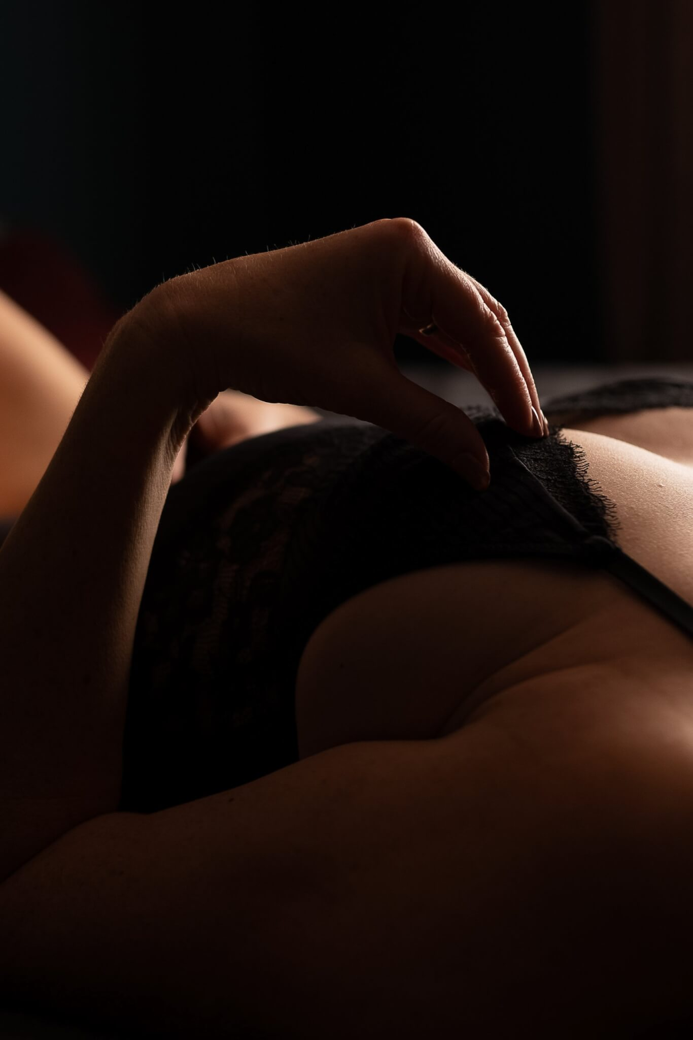 Licht en schaduw boudoir