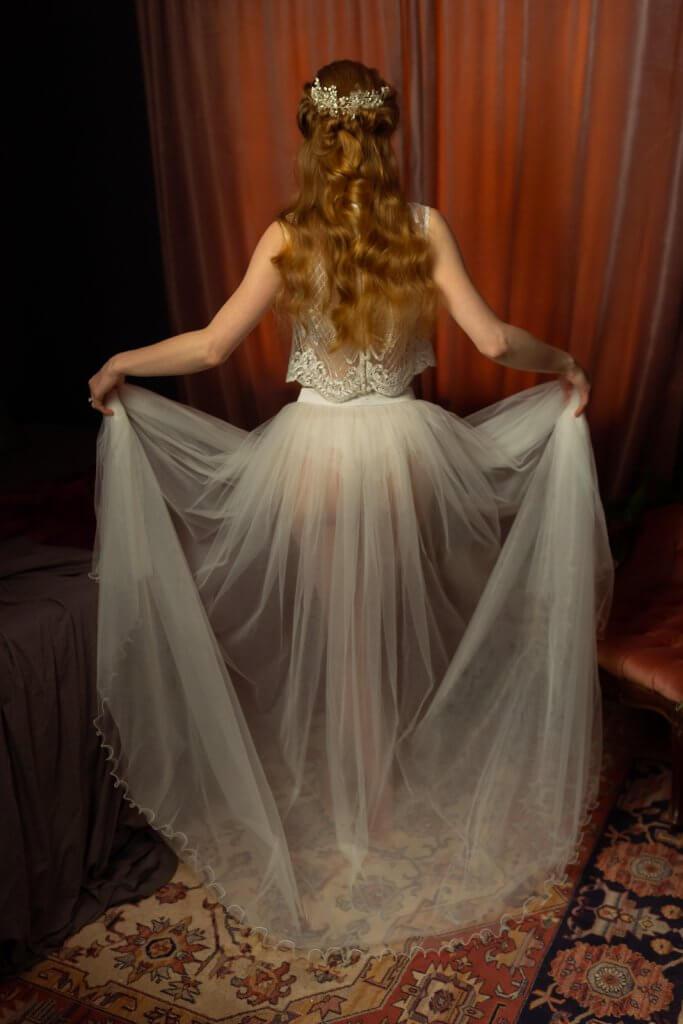 Lingerie rok bruid